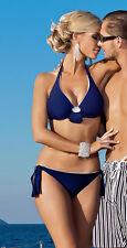 Schicker Neckholder Bikini mit Bügeln in Gr. 36-40 Cups B,C,D,E,F Mod.115WZ Neu