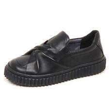 E6012 sneaker bimba black NATURINO scarpe slip on shoe kid girl