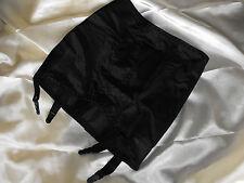 Nouveau tirez sur le contrôle jusqu' porte-jarretelles blanc noir ceinture shapewear vintage C412