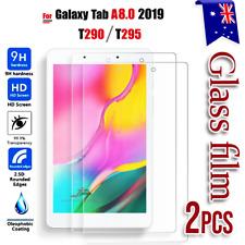 2X Samsung Galaxy Tab A 8.0 T290 T295 2019 Tempered Glass Screen Protector Guard