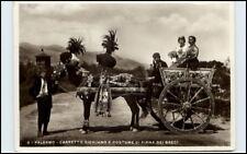 1936 Palermo Carretto Siciliano COSTUME PIANA DEI GRECI