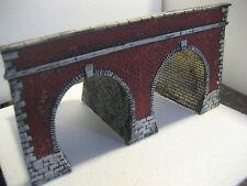 portale tunnel  per diorami e plastici ferroviari scala ho ART.P 14