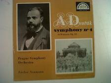 LP DVORAK symphony no 4 in D minor Op 13 V. Neumann
