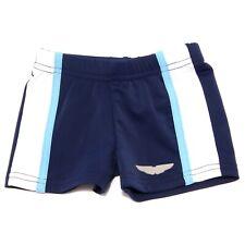 0390T boxer mare blu bimbo ASTON MARTIN costume swimwear kid