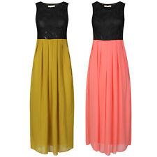 Women Chiffon Long Maxi Dress Fashion