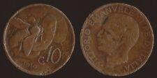 10 CENTESIMI 1919 APE - VITTORIO EMANUELE III RARA R2
