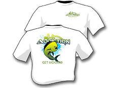 Salt Addiction Fishing t shirt,Saltwater shirt,Ocean,Fish,Dolphin.Mahi,life,rod