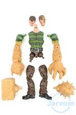"""Marvel Legends 6"""" inch Build a Figure BAF Spider-Man SandMan Individual Parts"""