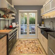 3D Wood Blocks 20 Kitchen Mat Floor Murals Wall Print Wall Deco AJ WALLPAPER CA
