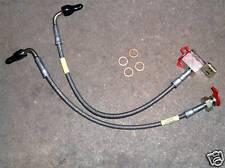 TUBO Freno Set, REAR, S / s intrecciato, MAZDA MX-5 & Eudora, MX5 MK1, MK2, L / H & R / H