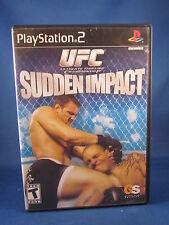 Sony Playstation PS2 UFC Sudden Impact komplett Videospiel