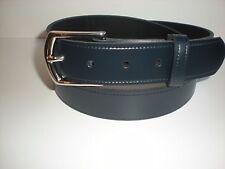35MM Cinturones de Cuero en Negro, Marrón, Azul Marino, borgoña verde tan y blanco S a XXL