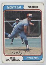 1974 Topps #73 Mike Marshall Montreal Expos Baseball Card