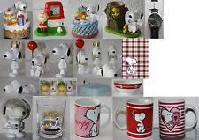 Snoopy/Peanuts Artikel: Figur/Bilderrrahmen/Spardose/Notizbuch/Tasse..-Aussuchen