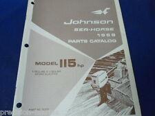 1969, 115 HP Johnson Sea Horse, Parts Catalog.