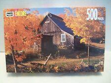 """Vermont Farm"" RoseArt #06052 Encore Puzzle NIB 1993!"