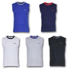 DONNAY Tank Top Muscle Shirt TShirt Muskel T-Shirt S M L XL Blau Schwarz Weiß