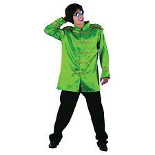 ADULT'S 1960'S MUSICIANS GREEN SGT. PEPPER JACKET COSTUME MEN'S FANCY DRESS