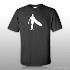 Longboard Surfer T-Shirt Tee Shirt Gildan S M L XL 2XL 3XL Cottonsurf  #3