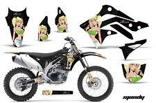 AMR RACING OFF ROAD GRAPHIC KIT STICKER DECAL MX BIKE KAWASAKI KXF450 2012 MANDY