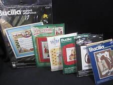 Bucilla Counted Cross Stitch Kits - You Pick