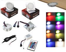 Einbaustrahler Ambiente Lolly 12V RGB - LED FarbwechseI Technik 0,5W = 10W P65