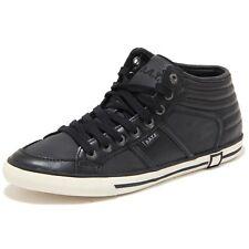 56060 sneaker D.A.T.E. JUDE MONO MID scarpa donna shoes women nero