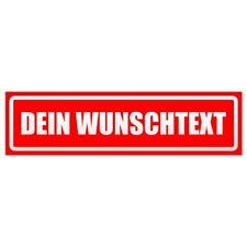 DEIN WUNSCHTEXT f/ür KFZ und sonstige Metalloberfl/ächen Kiwistar Magnetschild
