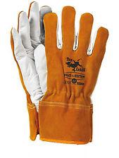 Mano de invierno Zapatos guantes de protección mano de trabajo Zapatos Cuero caliente (RLCS + + invierno-P)