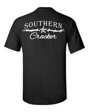 Southern Cracker Logo t shirt,redneck hillbilly fishing short sleeve south