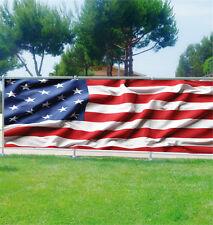 Paravento vista decocrazione personalizzato Bandiera americano ref 3690