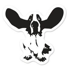 Beagle Car Vinyl Sticker - SELECT SIZE