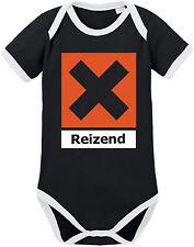 REIZEND Ringer Body BIO-Baumwolle, schwarz-weiß von Racker´n´Roll