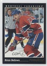 1993-94 Pinnacle #22 Brian Bellows Montreal Canadiens Hockey Card