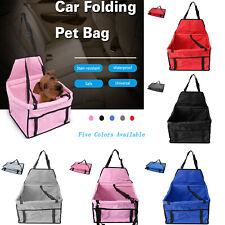 Pet Dog Car Folding Seat Safe Cat Puppy Travel Carrier Waterproof Handbag Basket