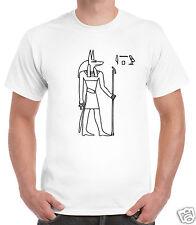Egyptian God Anubis T-Shirt Ra Egyptology Egypt Ancient Pyramid Pharoah