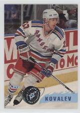 1995-96 Topps Stadium Club #218 Alex Kovalev New York Rangers Hockey Card