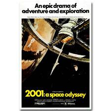 2001 Space Odyssey (1968) Movie Vintage Silk Poster 12x18 24x36 inch
