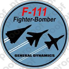 STICKER MILITARY AIRCRAFT F-111 AARDVARK C
