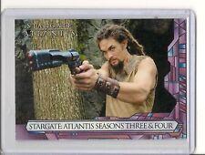 Stargate Atlantis season 3 & 4 P2 promo card