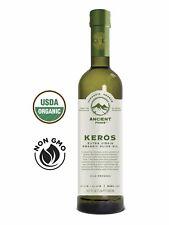 Ancient Foods - Keros Greek Organic Extra Virgin Olive Oil | Cold Pressed 17oz