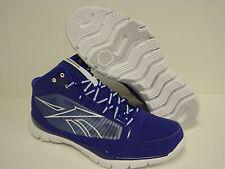 NEW Mens 6.5 REEBOK SHOWDOWN SubLite Pro Rise Royal V44509 SAMPLE Sneakers Shoes
