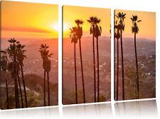 Hollywood 3-Teiler Leinwandbild Wanddeko Kunstdruck