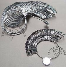 Stainless Steel Finger Ring 36 Pcs & Bracelet/ Bangle 27 Pcs Gauge Sizer Jewelry