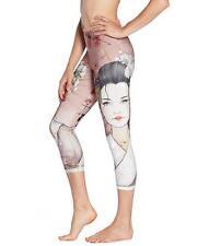 Woman 7 point Yoga legging Japan kabuki printed Slim Yoga legging S-3XL legging
