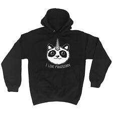 I Love Pandicorn Panda Unicorn Animals Funny HOODIE Birthday gift present joke