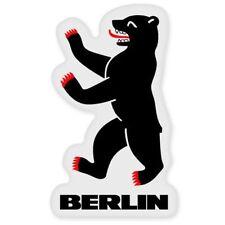 Berlin Bear Emblem Car Vinyl Sticker - SELECT SIZE