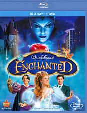 BLU-RAY Enchanted (Blu-Ray +DVD) NEW Amy Adams, James Marsden