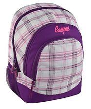 Womens Girls Canvas Backpack Rucksack Daysack Sports School Laptop Notebook Bag