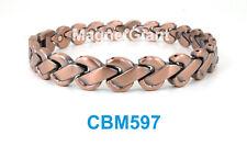 Men Copper link high power magnetic bracelet CBM597